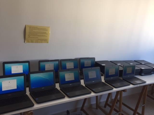 Implantació de Chromebooks a un centre d'Eivissa