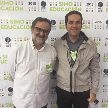 Toni Roig i Pedro Pons Melià al SIMO 2016